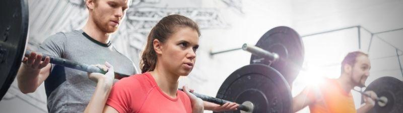 crossfit gym members
